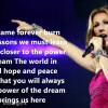 Celine Dion – Power of the Dream