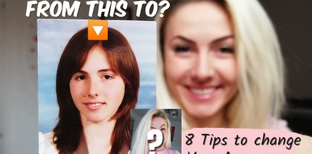 10 YEARS CHALLENGE |8 TIPS TO CHANGE HOW YOU LOOK|NO INJURIES|LAW OF ATTRACTION TECHNIQUES