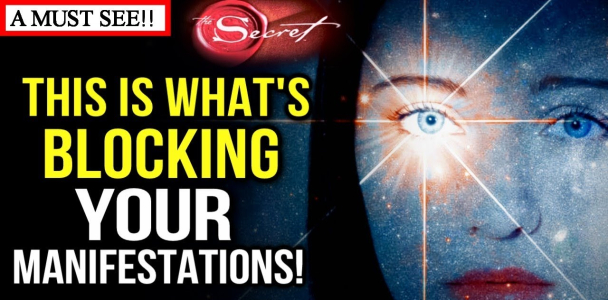 How to Use the Law Of Attraction to MANIFEST the BIG Stuff! (Eye Opening Video!) The Secret