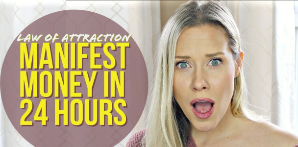 MANIFEST MONEY 24 HOURS OR LESS | Real Results Law of Attraction