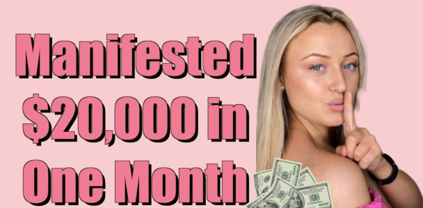 How to Manifest Money | The EXACT Formula I Use | Law of Attraction Success Story