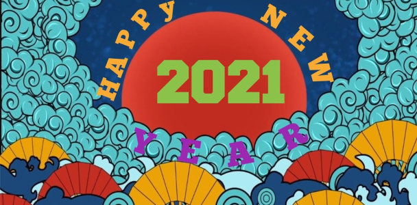 Happy new year wishes for 2021 with 21 positive words…..