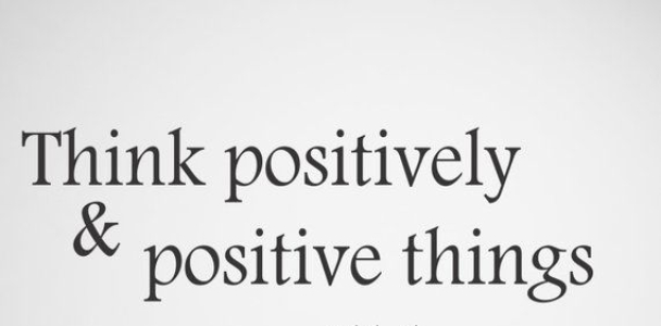 Think Positive Wall Decal | Etsy